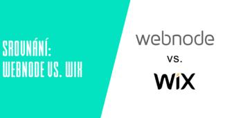 Srovnání Webnode vs. WIX