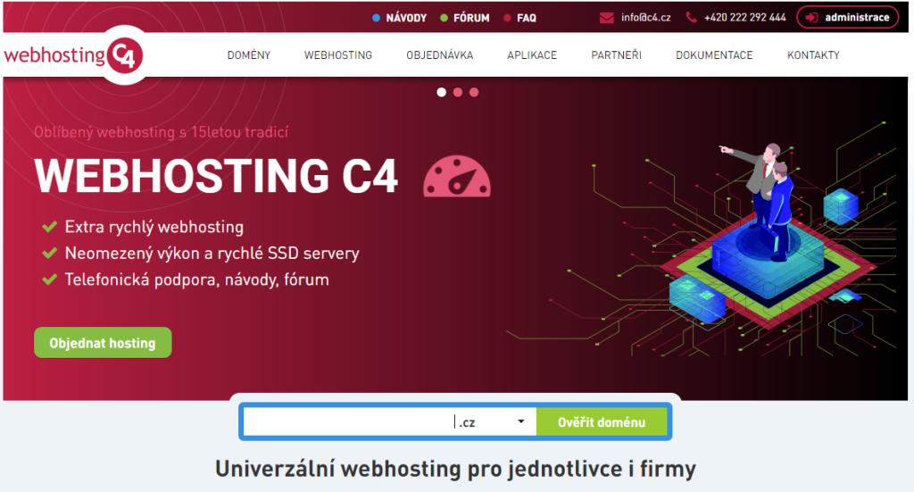 Recenze Webhosting C4 představení