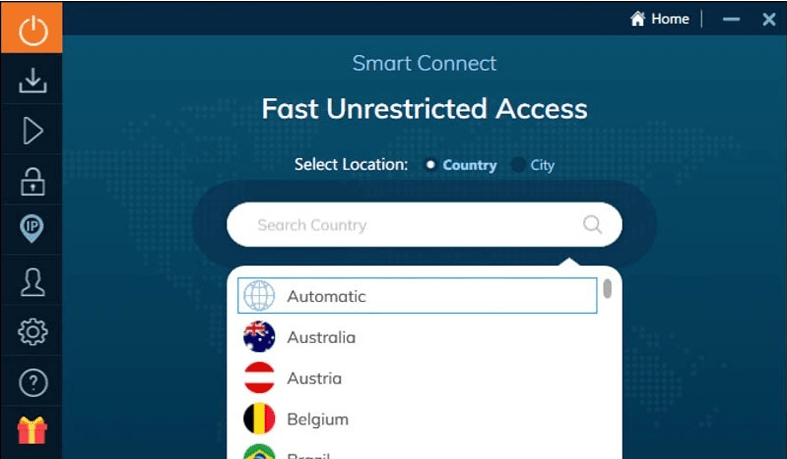 Ivacy VPN Smart Connect