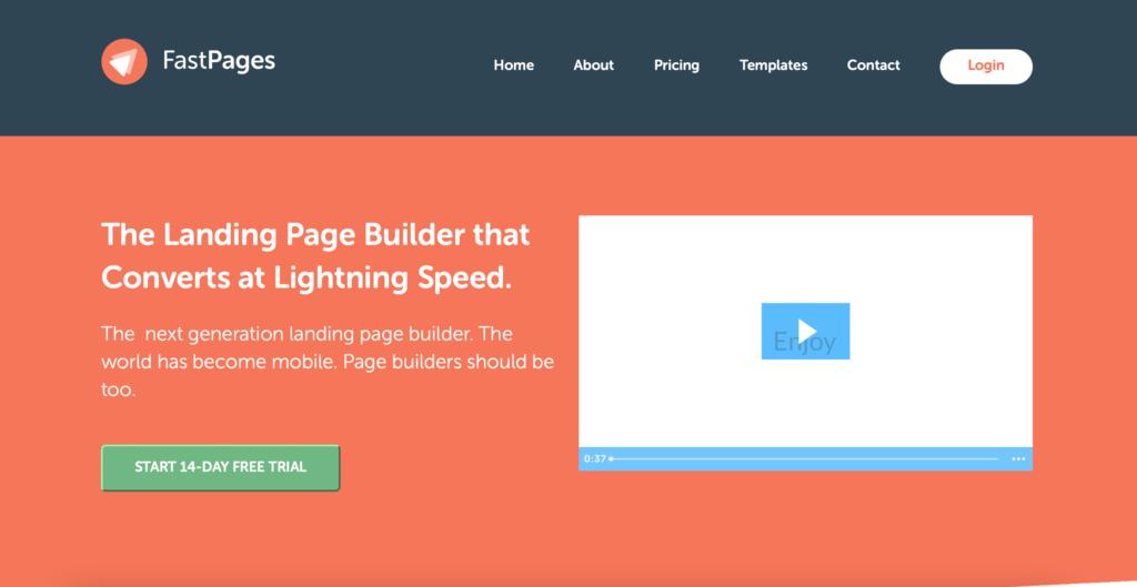 FastPages.io page builder WYSIWYG editor