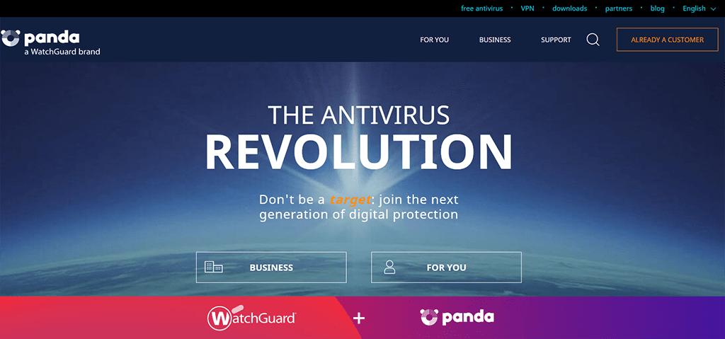 Porovnání antivirusových programů - antivirový program Panda Security