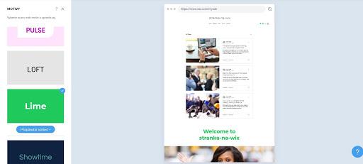 Wix: Jednoduchá úprava stylu webu