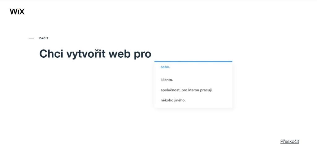 Wix: Web vytvářím pro...