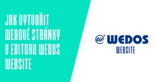 Jak vytvořit webové stránky v editoru Wedos Website