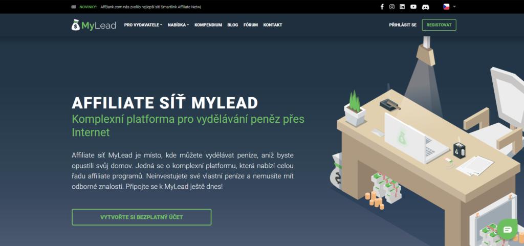affiliate síť MyLead.global