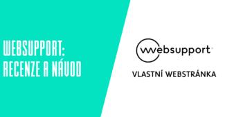 Websupport vlastní webová stránka recenze a návody