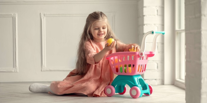 E-shop s dětským sortimentem